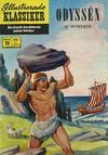 Cover for Illustrerade klassiker (Williams Förlags AB, 1965 series) #25 [HBN 165] (5:e upplagan) - Odyssén