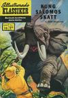 Cover for Illustrerade klassiker (Williams Förlags AB, 1965 series) #26 [HBN 165] (4:e upplagan) - Kung Salomos skatt
