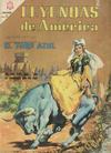 Cover for Leyendas de América (Editorial Novaro, 1956 series) #123