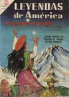 Cover for Leyendas de América (Editorial Novaro, 1956 series) #124