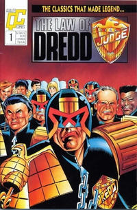 Cover Thumbnail for The Law of Dredd (Fleetway/Quality, 1988 series) #1