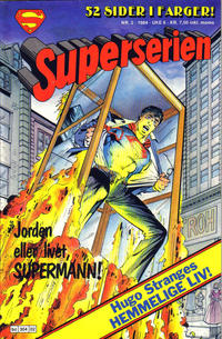 Cover Thumbnail for Superserien (Semic, 1982 series) #2/1984