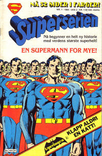Cover Thumbnail for Superserien (Semic, 1982 series) #1/1984