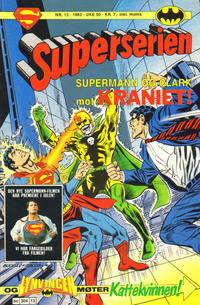 Cover Thumbnail for Superserien (Semic, 1982 series) #13/1983