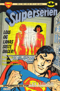 Cover Thumbnail for Superserien (Semic, 1982 series) #9/1983