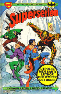 Cover Thumbnail for Superserien (Semic, 1982 series) #7/1983