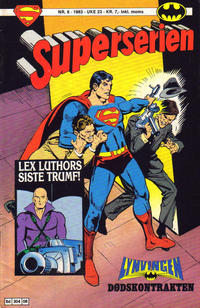 Cover Thumbnail for Superserien (Semic, 1982 series) #6/1983