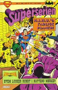 Cover for Superserien (Semic, 1982 series) #5/1983