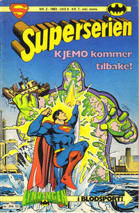 Cover Thumbnail for Superserien (Semic, 1982 series) #2/1983