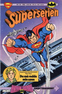 Cover Thumbnail for Superserien (Semic, 1982 series) #25/1982