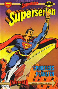 Cover Thumbnail for Superserien (Semic, 1982 series) #20/1982
