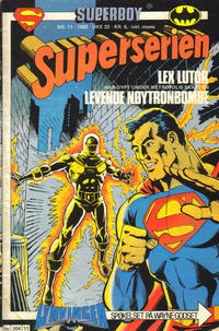 Cover Thumbnail for Superserien (Semic, 1982 series) #11/1982