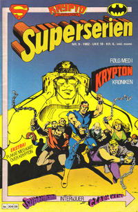 Cover Thumbnail for Superserien (Semic, 1982 series) #9/1982