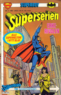 Cover Thumbnail for Superserien (Semic, 1982 series) #3/1982