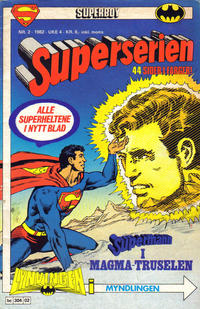 Cover Thumbnail for Superserien (Semic, 1982 series) #2/1982