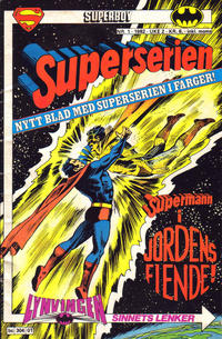 Cover Thumbnail for Superserien (Semic, 1982 series) #1/1982