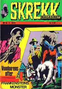 Cover Thumbnail for Skrekk Magasinet (Illustrerte Klassikere / Williams Forlag, 1972 series) #4/1973