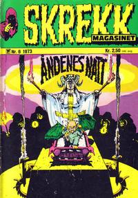 Cover Thumbnail for Skrekk Magasinet (Illustrerte Klassikere / Williams Forlag, 1972 series) #6/1973