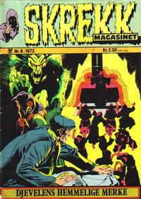 Cover Thumbnail for Skrekk Magasinet (Illustrerte Klassikere / Williams Forlag, 1972 series) #8/1973