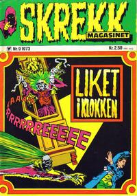 Cover Thumbnail for Skrekk Magasinet (Illustrerte Klassikere / Williams Forlag, 1972 series) #9/1973