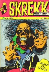 Cover Thumbnail for Skrekk Magasinet (Illustrerte Klassikere / Williams Forlag, 1972 series) #11/1973