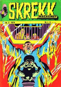 Cover Thumbnail for Skrekk Magasinet (Illustrerte Klassikere / Williams Forlag, 1972 series) #3/1974
