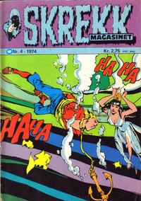 Cover Thumbnail for Skrekk Magasinet (Illustrerte Klassikere / Williams Forlag, 1972 series) #4/1974