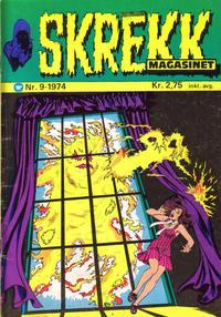 Cover Thumbnail for Skrekk Magasinet (Illustrerte Klassikere / Williams Forlag, 1972 series) #9/1974