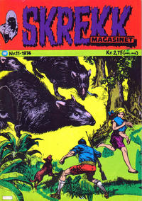 Cover Thumbnail for Skrekk Magasinet (Illustrerte Klassikere / Williams Forlag, 1972 series) #11/1974