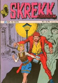 Cover Thumbnail for Skrekk Magasinet (Illustrerte Klassikere / Williams Forlag, 1972 series) #10/1974