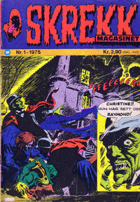 Cover Thumbnail for Skrekk Magasinet (Illustrerte Klassikere / Williams Forlag, 1972 series) #1/1975