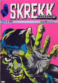 Cover Thumbnail for Skrekk Magasinet (Illustrerte Klassikere / Williams Forlag, 1972 series) #3/1975