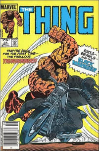 Cover Thumbnail for The Thing (Marvel, 1983 series) #27 [Canadian]