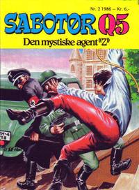 Cover Thumbnail for Sabotør Q5 (Serieforlaget / Se-Bladene / Stabenfeldt, 1971 series) #2/1986