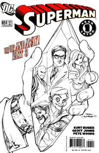 Cover Thumbnail for Superman (DC, 2006 series) #651 [2nd Printing]