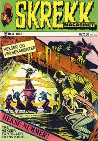 Cover Thumbnail for Skrekk Magasinet (Illustrerte Klassikere / Williams Forlag, 1972 series) #3/1973