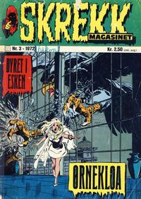 Cover Thumbnail for Skrekk Magasinet (Illustrerte Klassikere / Williams Forlag, 1972 series) #3/1972