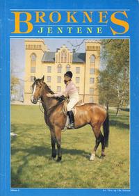 Cover Thumbnail for Broknesjentene (Serieforlaget / Se-Bladene / Stabenfeldt, 1988 series) #4