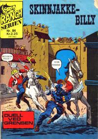 Cover Thumbnail for Ranchserien (Illustrerte Klassikere / Williams Forlag, 1968 series) #84