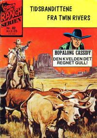 Cover Thumbnail for Ranchserien (Illustrerte Klassikere / Williams Forlag, 1968 series) #82