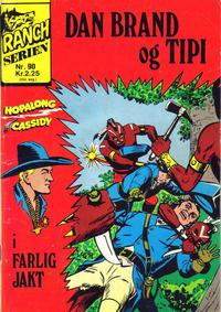 Cover Thumbnail for Ranchserien (Illustrerte Klassikere / Williams Forlag, 1968 series) #90