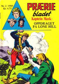 Cover Thumbnail for Præriebladet (Serieforlaget / Se-Bladene / Stabenfeldt, 1957 series) #2/1980
