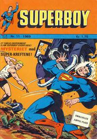 Cover Thumbnail for Superboy (Illustrerte Klassikere / Williams Forlag, 1969 series) #11/1969
