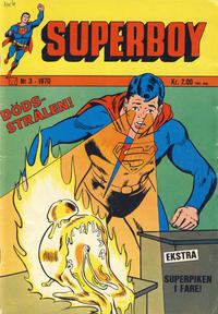 Cover Thumbnail for Superboy (Illustrerte Klassikere / Williams Forlag, 1969 series) #3/1970