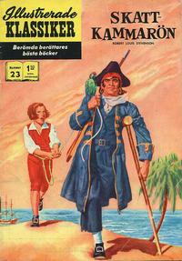 Cover Thumbnail for Illustrerade klassiker (Williams Förlags AB, 1965 series) #23 [HBN 165] (5:e upplagan) - Skattkammarön