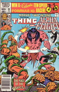 Cover Thumbnail for Marvel Two-in-One (Marvel, 1974 series) #84 [Newsstand]