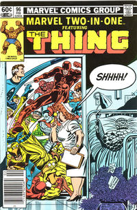 Cover Thumbnail for Marvel Two-In-One (Marvel, 1974 series) #96 [Newsstand]