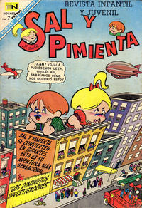 Cover Thumbnail for Sal y Pimienta (Editorial Novaro, 1964 series) #38