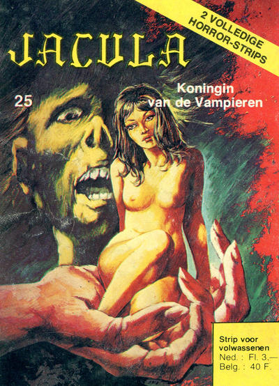 Cover for Jacula (De Vrijbuiter; De Schorpioen, 1973 series) #25
