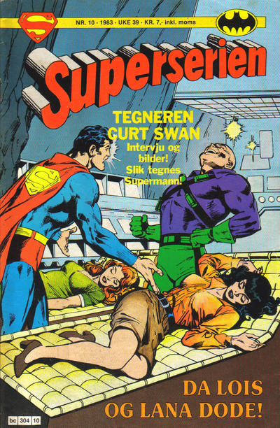 Cover for Superserien (Semic, 1982 series) #10/1983